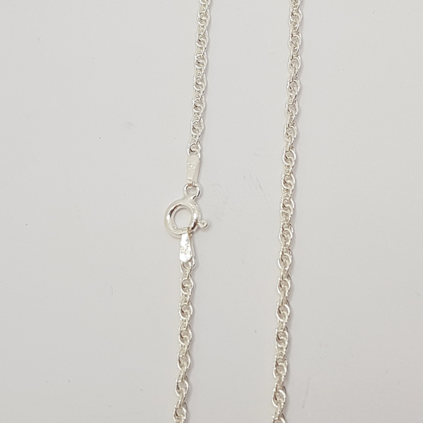 C12 Double Link 925 Sterling Silver Necklace
