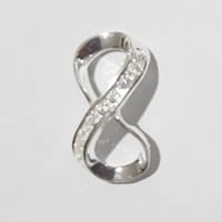 925 Sterling Silver with Cubic Zirconia